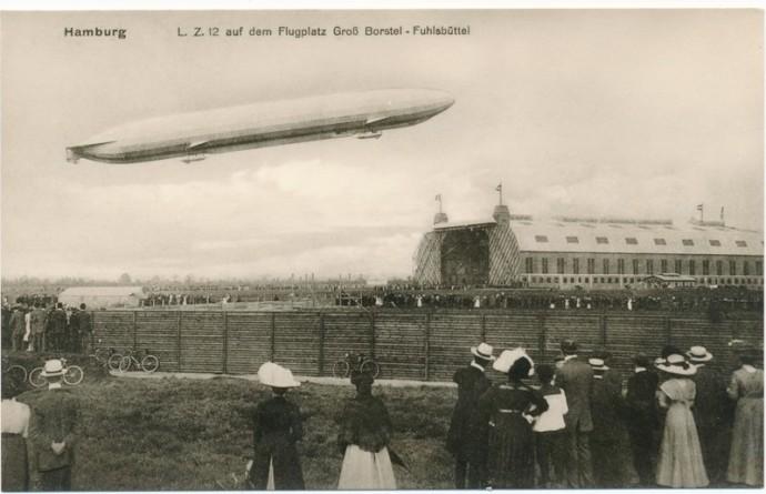 Fuhlsbüttel Flughafen Buchhandlung Zeppelin